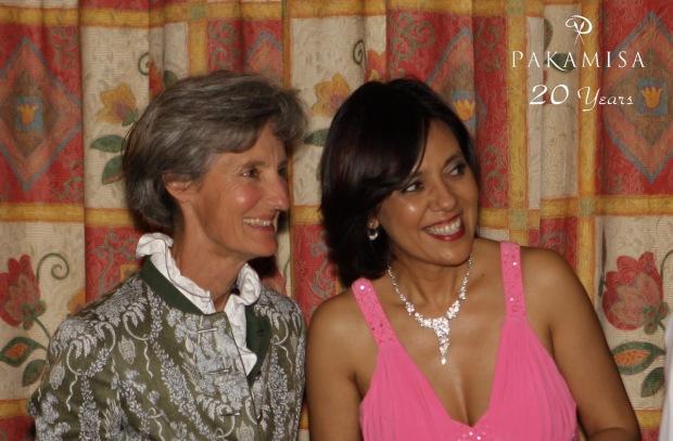 Isabella Stepski and Lana English