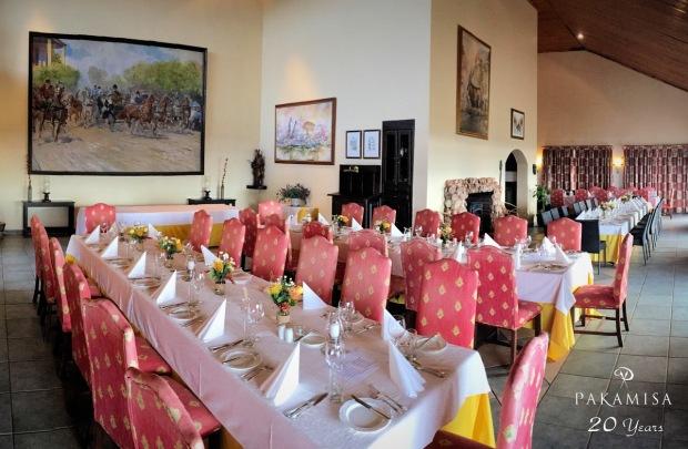 Pakamisa's El Prado restaurant was the perfect venue for this unique 63 guests celebration