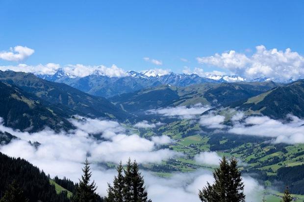 From a mountainous Austria ...