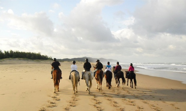 2 days at a B&B in St. Lucia with horse riding on the beach and in the iSimangaliso Wetland Park
